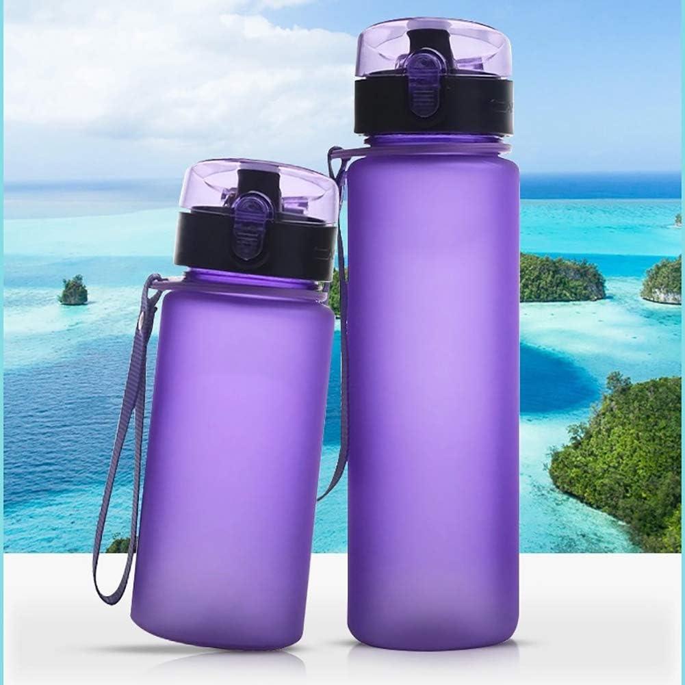 ENticerowts Botella de agua deportiva de 400 ml/560 ml, a ...