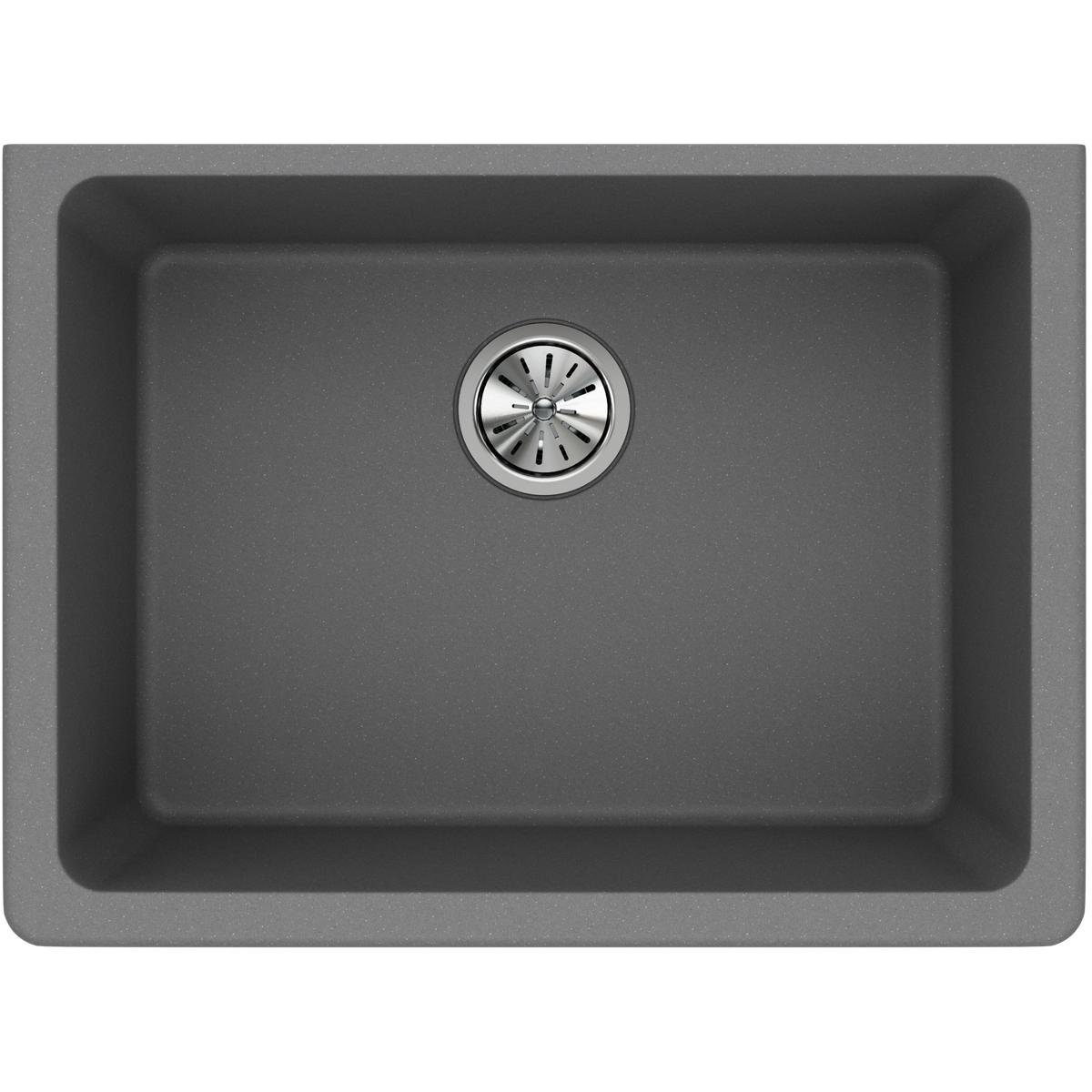 Elkay Quartz Classic ELGU2522GS0 Greystone Single Bowl Undermount Sink