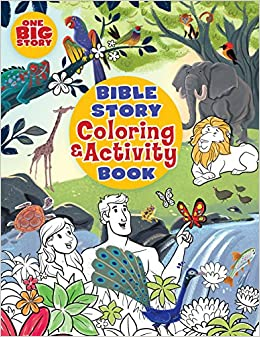 Bible Story Coloring and Activity Book (One Big Story): B&H ...