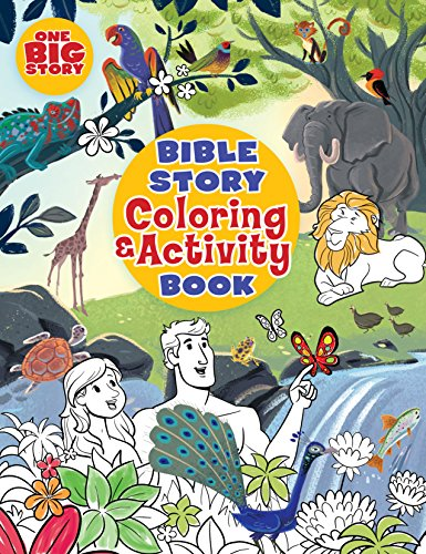 Bible Story Coloring and Activity Book (One Big Story)