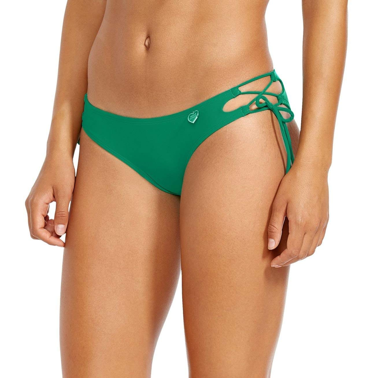 91758fd1cd Amazon.com  Body Glove Women s Smoothies Tie Side Mia Mid Coverage Bikini  Bottom Swimsuit  Clothing