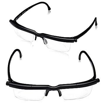 bf1d687932 Dial Vision Glasses DialVision Adjustable Lens Eyeglasses for Vision  Correction Instant 20 20 Adjustable Lenes
