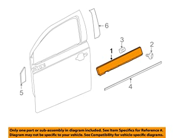 Amazon.com: GM 22884395 MOLDING,FRT S/D WDO BELT RVL: Automotive on