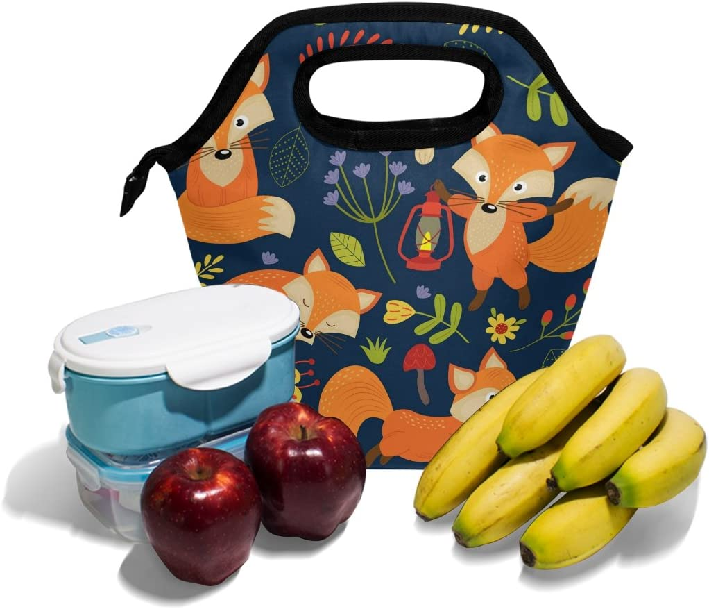 Bettken Lunch Bag Sport Bowling Ball Pattern Insulated Reusable Lunch Box Portable Lunch Tote Bag Meal Bag Ice Pack for Kids Boys Girls Adult Men Women