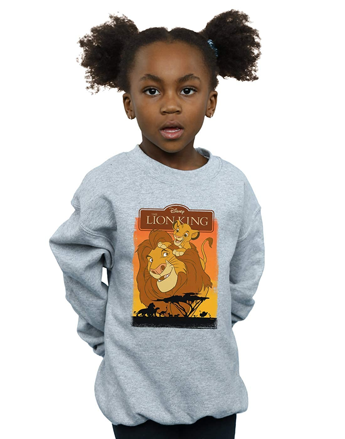 Disney Girls The Lion King Simba and Mufasa Sweatshirt