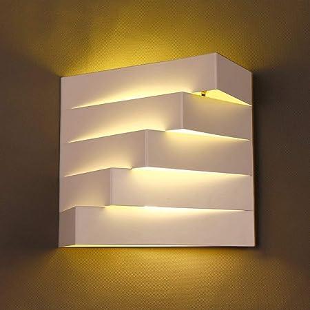 L.W.SURL Moderne Wandleuchte Leuchten Lámpara de Pared Blanca ...