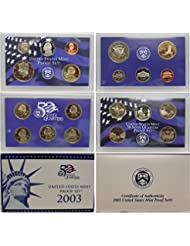2003 S US Mint Proof Set OGP