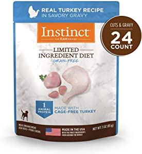 Instinct Limited Ingredient Dog Food Topper, Limited Ingredient Diet Natural Grain Free Wet Dog Food Topper