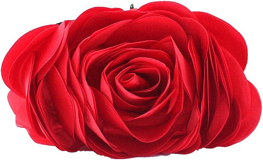 Bywen Rose Pattern Purse...