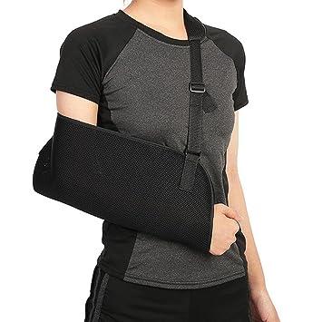 Semme Cabestrillo de Brazo Hombro Honda antebrazo Codo inmovilizador Correa  ortopédica Ajustable Soporte codera Muñequera para b803483f69a5