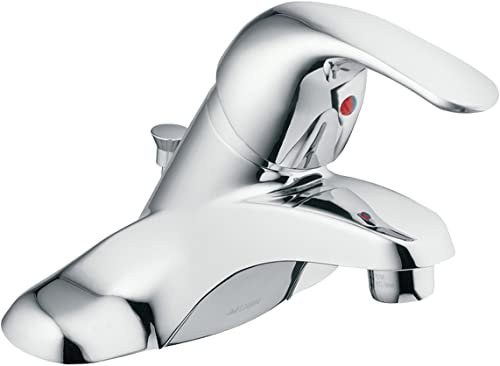 Moen 84503 Adler Centerset Single-Handle Bathroom Faucet, 4 , Chrome