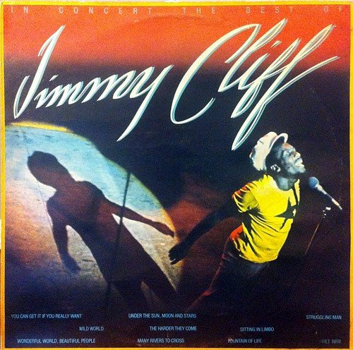 Jimmy Cliff - In Concert The Best Of - Reprise Records - K 54086