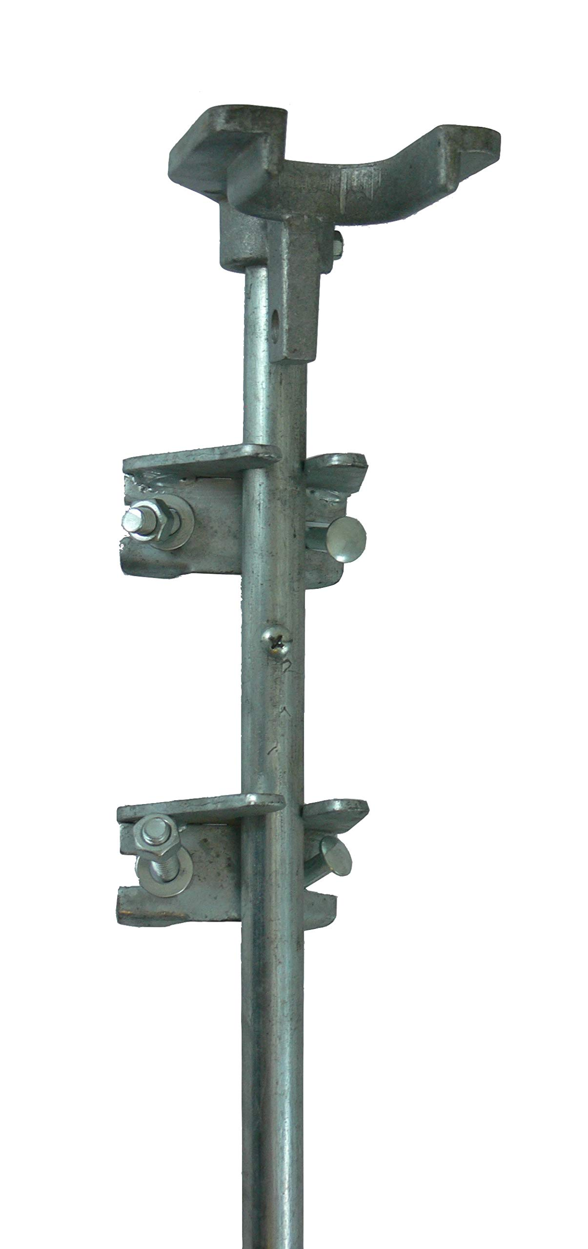 Chain Link Drop Rod/PIN Latch for 1-3/8'' Frame Double Gate - Chain Link Fence. 36'' Long.