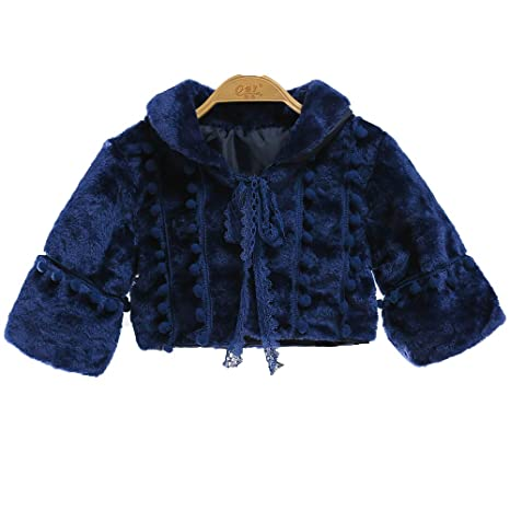 QSEFT Los Niños Pequeños Princesa Thicken Coat Outwear Ropa De Bebé Niñas  Otoño Invierno Warm Coat 21d2f4bfb5f