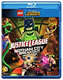 LEGO DC Comics Super Heroes: Justice League: Gotham City Breakout (Blu-ray + DVD + Digital HD + Includes Nightwing Lego Mini figure) Image
