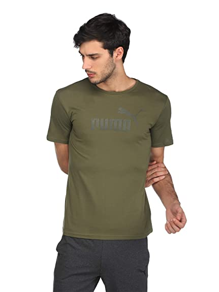 925dc80ca75 Puma ESS No.1 BF Tee W Green: Amazon.in: Clothing & Accessories