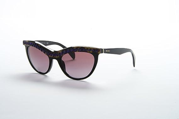 ad5feec959 Amazon.com  Prada PR04PS Sunglasses-MA5 5F1 Black (Purple Gradient ...