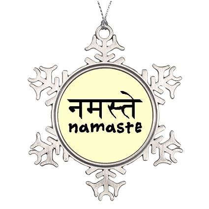 Amazon Com Tree Branch Decoration Namaste In English And Hindi