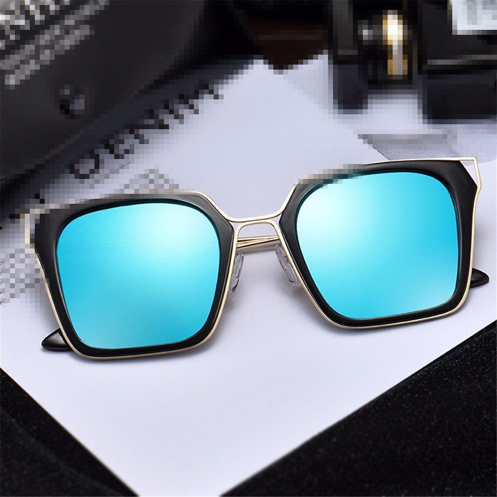 LXKMTYJ Polarisierte Mode-Dame Uv-Schutz-Sonnenbrille, Kirschblüten-Pulver