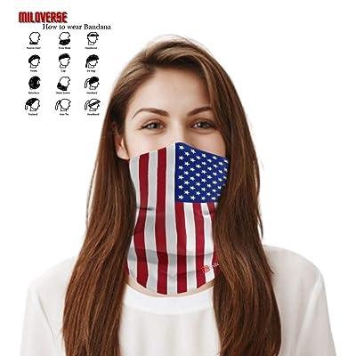 Face Shield Protective Sun Mask Head Bandana -Ship From US Florida State Flag