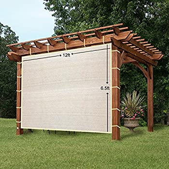 Amazon.Com : Outdoor Roller Sun Shade, 8-Feet By 6-Feet, Cabo Sand