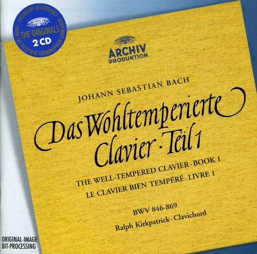 - Bach: The Well-Tempered Clavier, Book 1 (BWV 846-869)