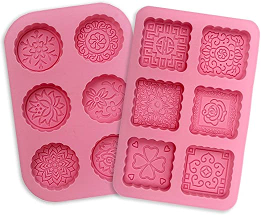 Premium Antiadherente Moldes para tartas (Set de 2), FantasyDay ...
