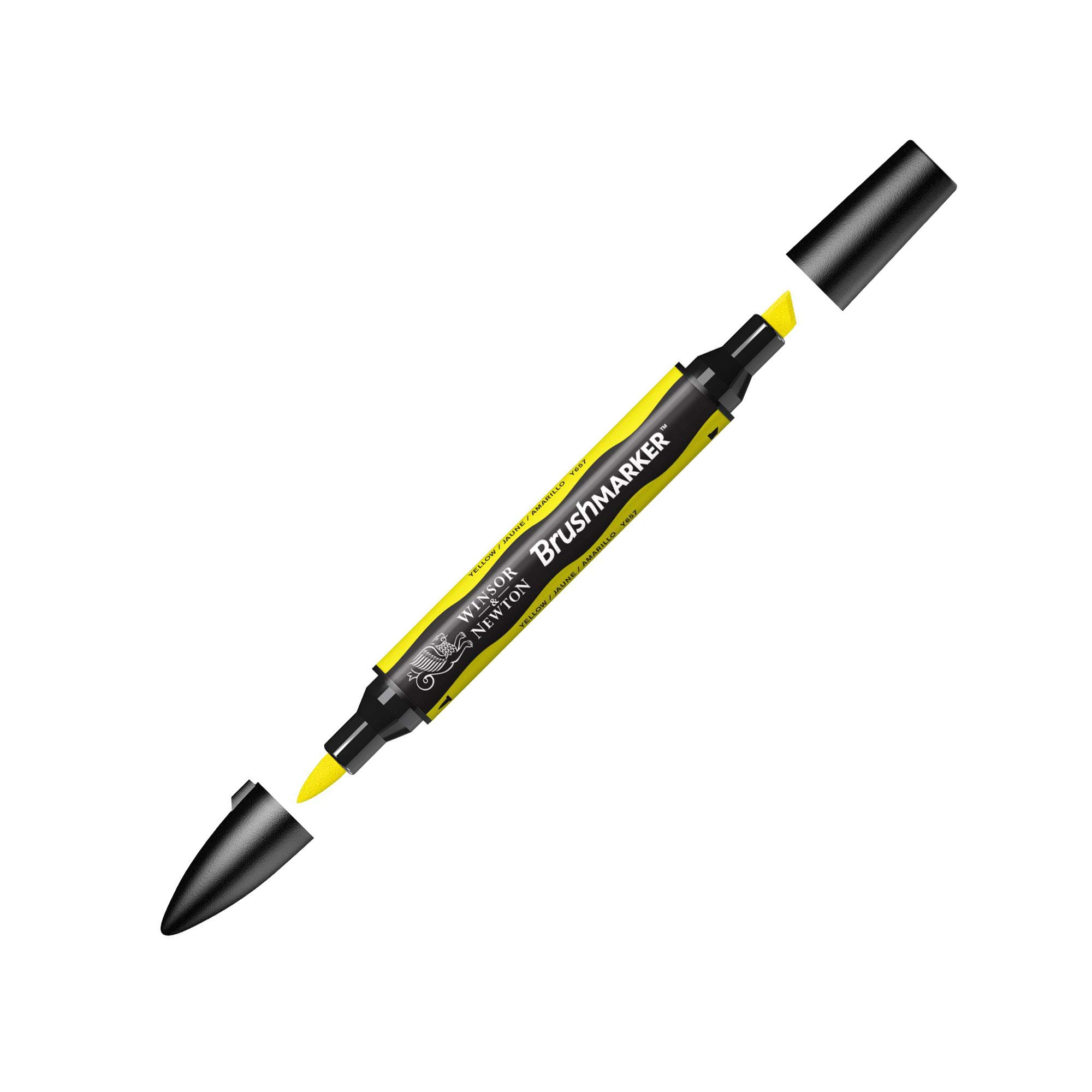 Winsor & Newton BrushMarker, Yellow
