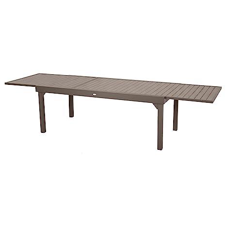 Hespéride Table de Jardin Extensible 12 Personnes Piazza - L ...