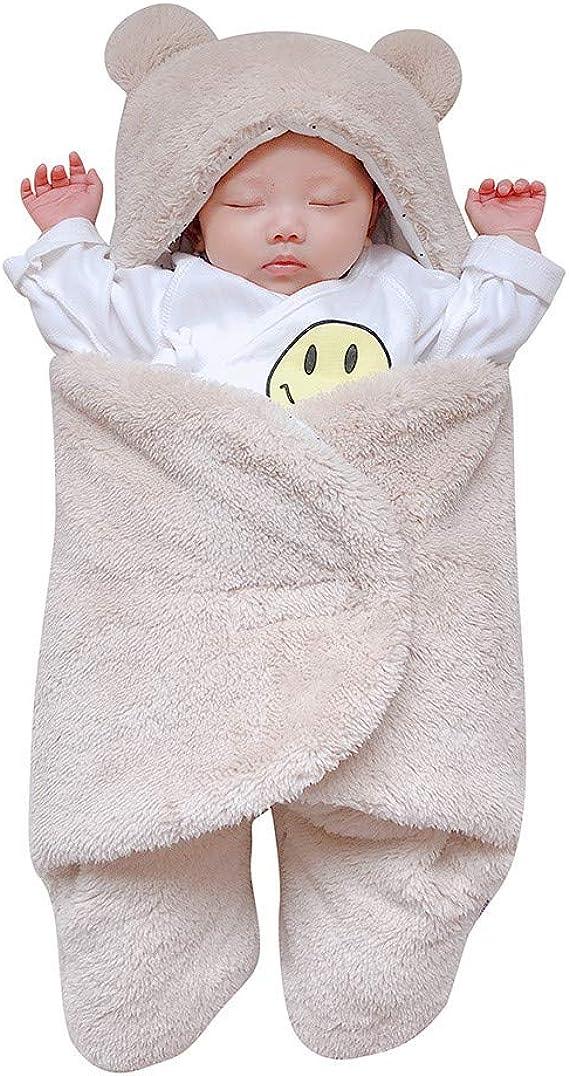 Cuddle Club Surpyjama en Polaire B/éb/é du Nourrisson /à 4 Ans V/êtements B/éb/é Fille et Gar/çon Chauds Pyjama Fille et Gar/çon et Couverture B/éb/é ou Nid d/'Ange en Un !