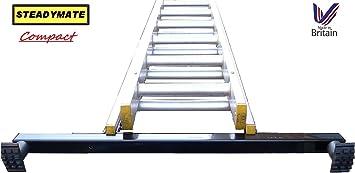 Compact STEADYMATE - Estabilizador de escalera dispositivo de seguridad de goma 75 cm extraanchos estabilizador: Amazon.es: Bricolaje y herramientas