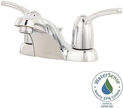 Moen Ws84403 Adler Two Handle Low Arc Bathroom Faucet Chrome