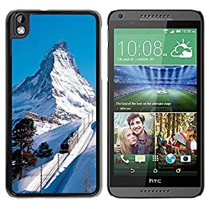 New Custom Designed Cover Case For HTC Desire 816 With Matterhorn Switzerland Nature Mobile Wallpaper Phone Case