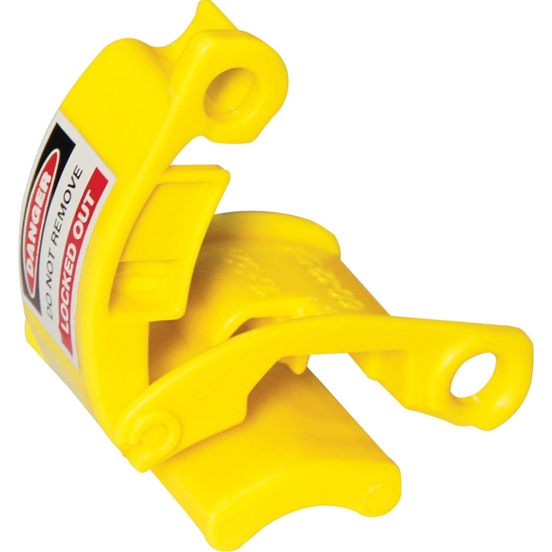 Lockout Safety Supply 7268 Pin and Sleeve - Plug Lockout, Yellow by Lockout Safety Supply