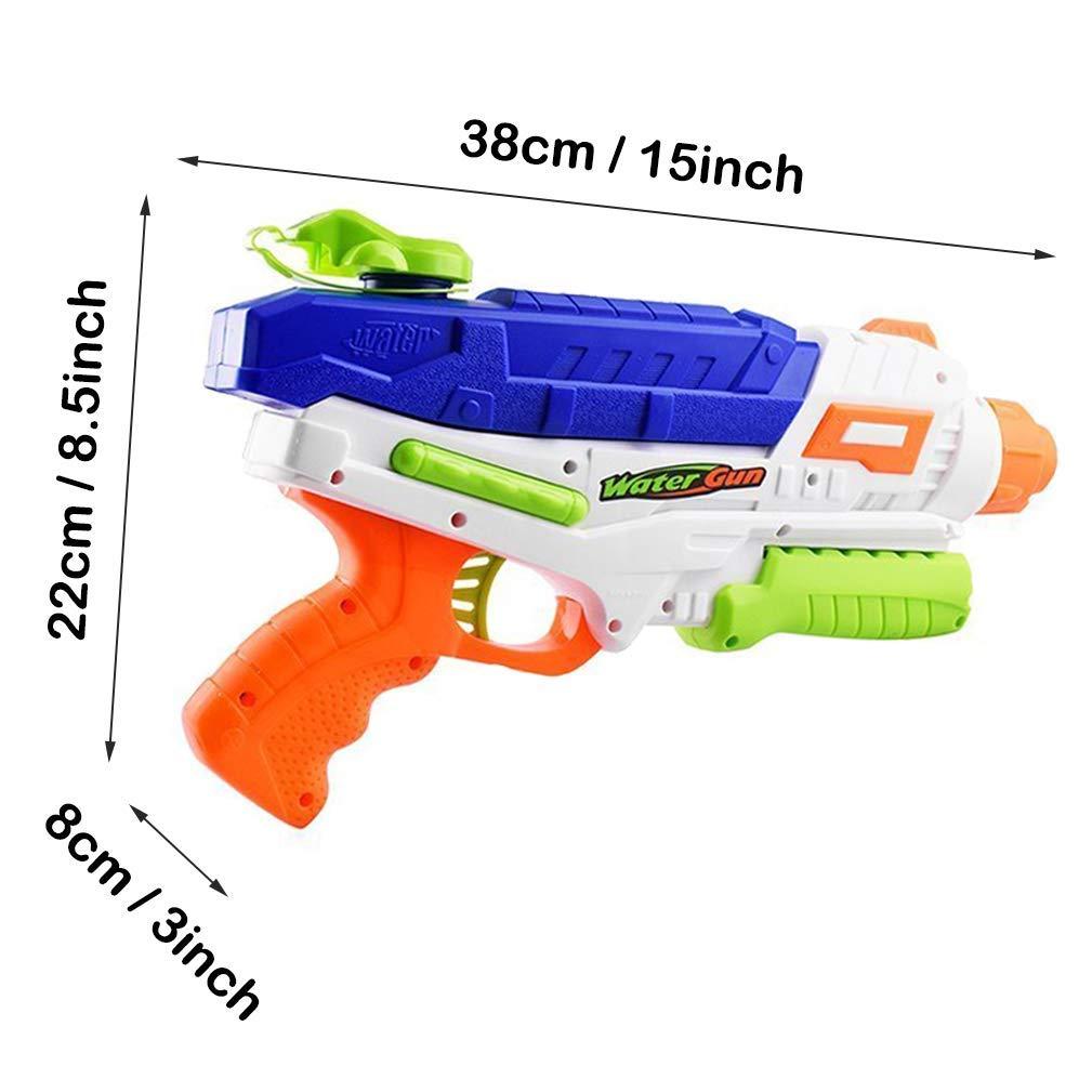 Queta Wasserpistolen mit Langstrecken-Sprinklerrohr, Wasserblaster Super Soakers Beach Toy für Kinder von 7 bis 14 Jahren 1000ML Extra Large Tank