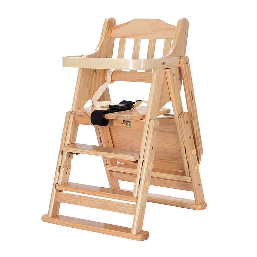 木製折りたたみ式ベビーハイチェア、回転ベビーダイニングチェア、ベビー多機能食事椅子 B07M8XQC5Z B07M8XQC5Z, 小浜町:b44b16c3 --- bennynews.com
