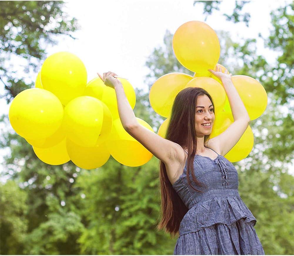 100 Pcs TONIFUL Orange Latex Balloons 10 inch Large Helium Party Balloons for Wedding Birthday Ceremony Decorations