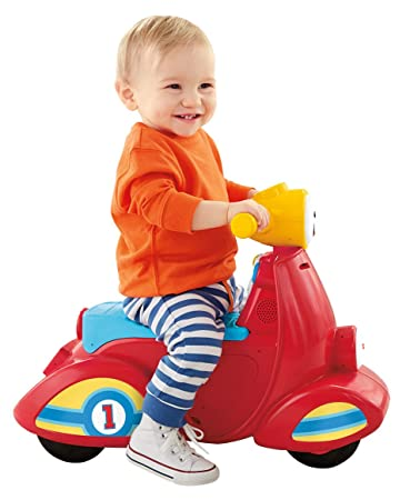 Amazon Com Fisher Price Laugh Learn Smart Stages Scooter Toys