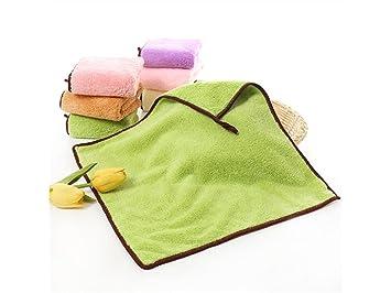 TjcmSs Toalla para bebé Toalla de Color sólido Toalla para bebé Toalla para bebé Biberón (Rosa) (Color : Green, tamaño : Talla única): Amazon.es: Deportes y ...
