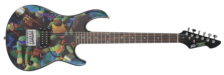Peavey Teenage Mutant Ninja Turtles Peavey Full-Size Rockmaster Electric Guitar by Peavey
