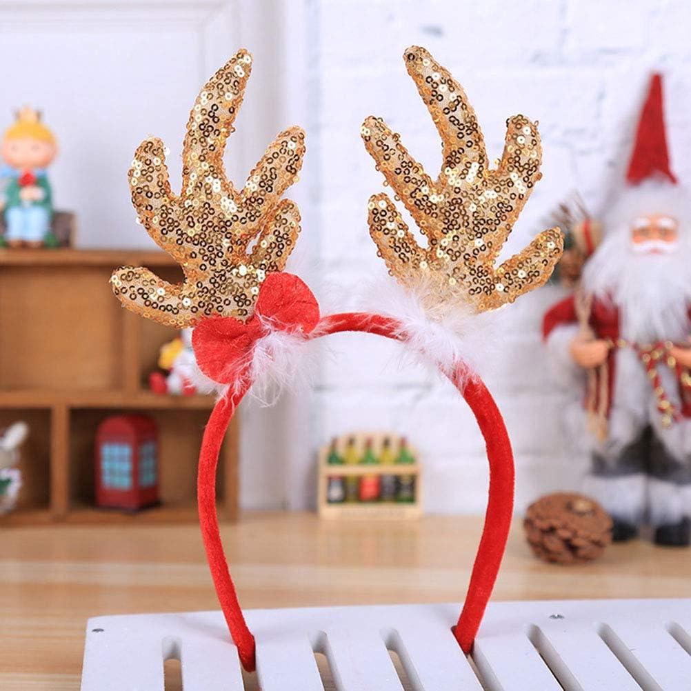 Natale Corna Da Renna Cerchietto Fascia