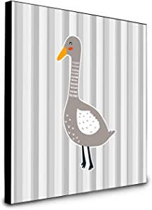 Caroline's Treasures Grey Goose Artwork Panel Wall-Decor, Multicolor