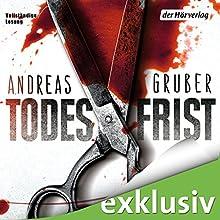 "Andreas Gruber - ""Todesfrist (Sneijder & Nemez 1)"""