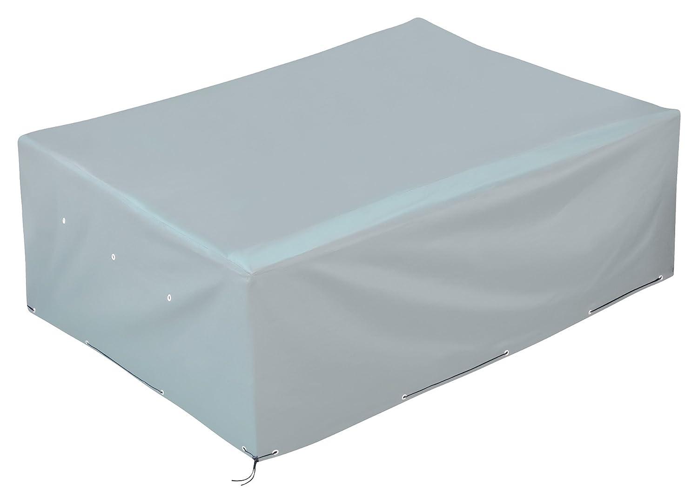 GardenMate® 250x200x80cm Oxford Polyester Schutzhülle Gartenmöbel für Gartenmöbel Schutzhülle - ANTHRAZIT - Premium Qualität aus hochwertigem 220GSM Oxford Material c4cbc4