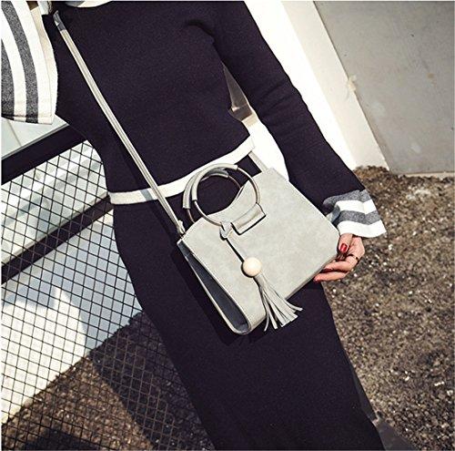 mujer Gris de hombro para Size One Bolso clothing al COCO Sintético OqwxgZU0v
