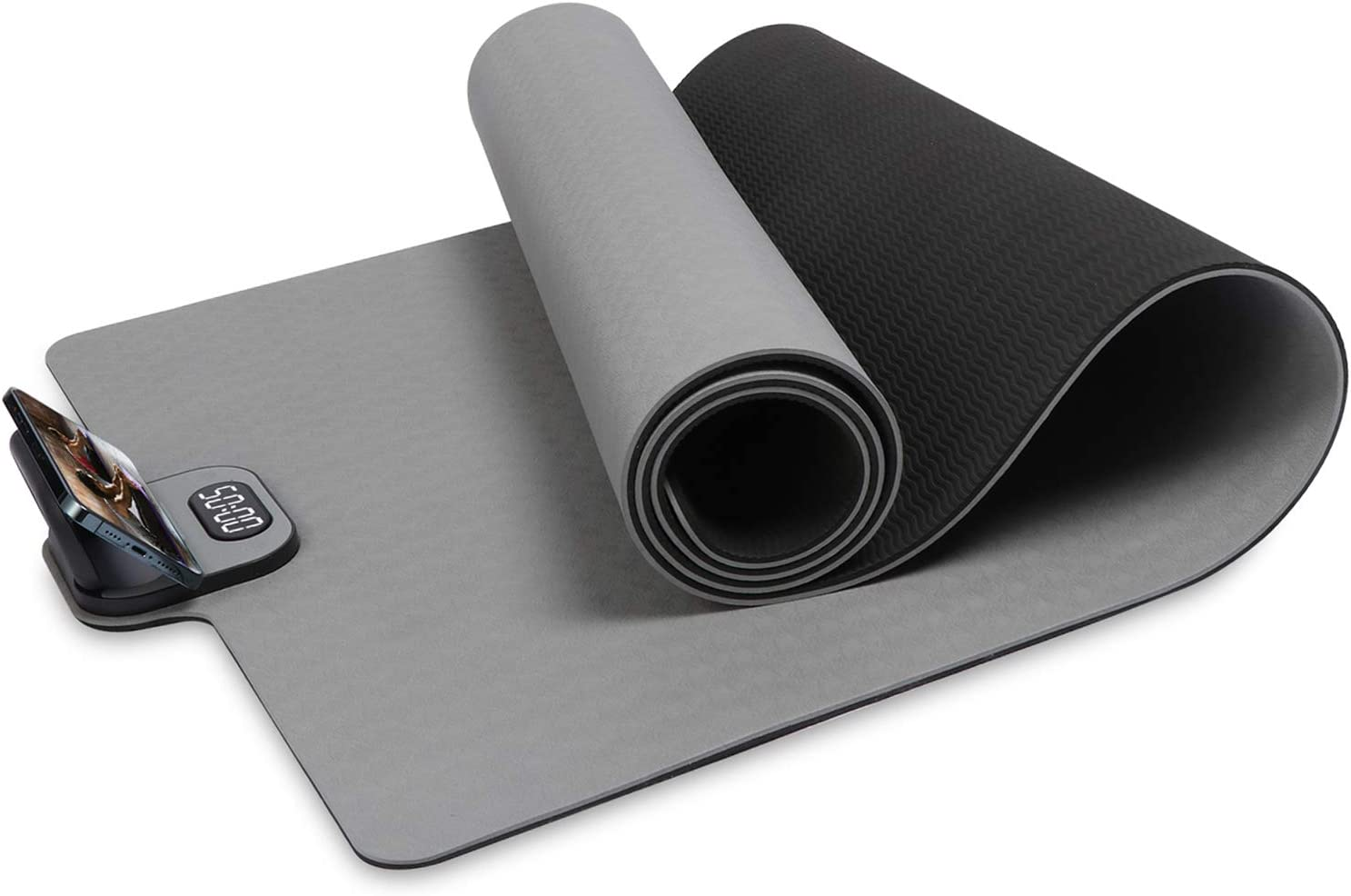 AmberCity Yoga /& Pilates Exercise mats with Carry Strap 4mm Thickness