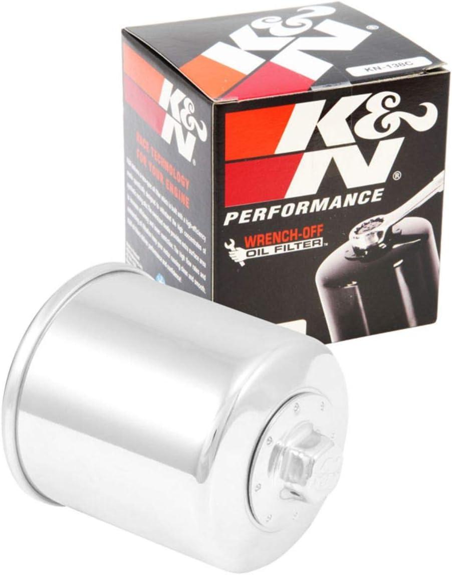 K/&N PERFORMANCE OIL FILTER KN-138 FOR SUZUKI GSXR600 1997-2013