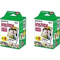 Fujifilm Película Instax Mini 10 SHEETS x 2PACKS ISO 800