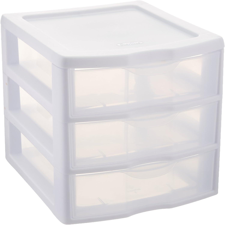 Amazon.com - Sterilite ClearView 3 Storage Drawer Organizer ...