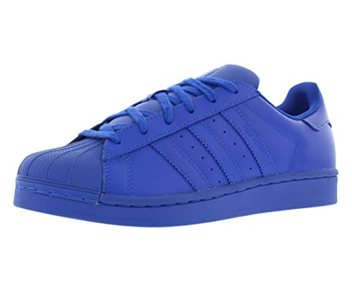 new concept 0cbae ecb15 Adidas Kids Pharrell Williams Superstar Supercolor Pack Sneakers S31604  Bold Blue US 5